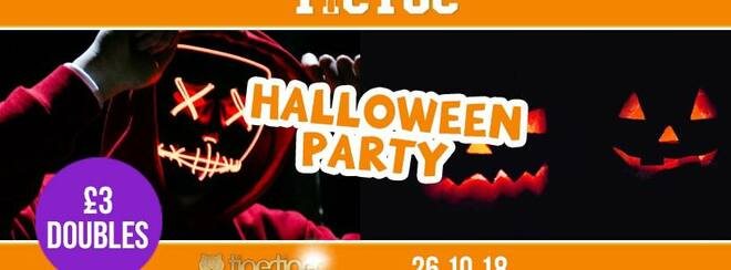TIC TOC Fridays // Halloween Party