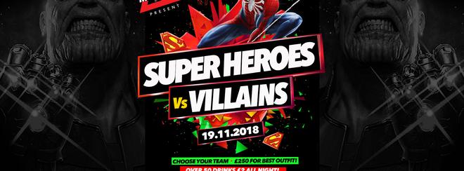 Super Heroes Vs Villains 19.11.18