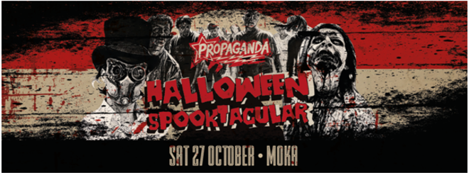 Propaganda Lincoln – Halloween Spooktacular!