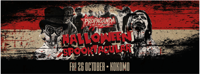 Propaganda Glasgow – Halloween Spooktacular