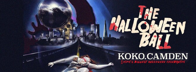 The Halloween Ball at KOKO, Camden - Tickets Out Now!