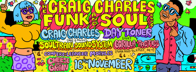 Craig Charles Funk and Soul Club - Frome