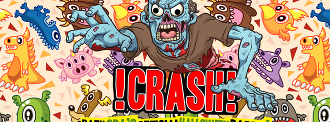 CRASH – The Spooky Smash-Up! Bath Spa's Official Halloween Party!