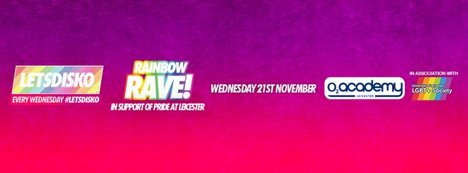 LetsDisko Rainbow Rave! – Wednesday 21st November