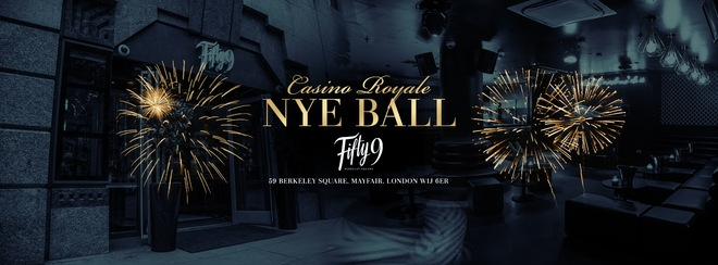 The Casino Royale NYE Party!