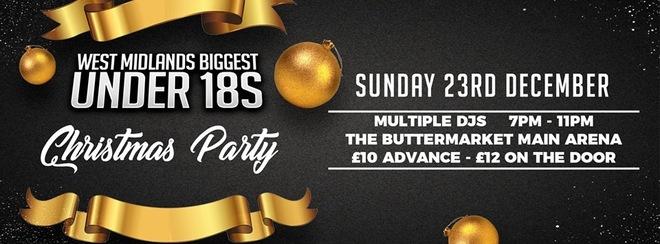 CIRCUIT Presents – West Midlands Biggest Under 18s Christmas Party
