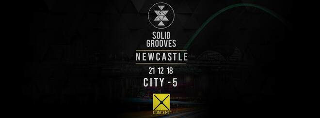 BLOC/004 SOLID GROOVES #MADFRIDAY / GREYS YARD