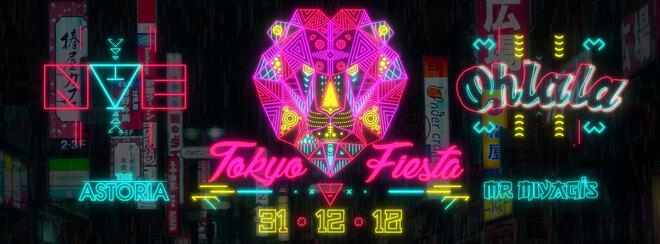 NYE Ohlala Tokyo Fiesta at The Astoria & Mr Miyagi's