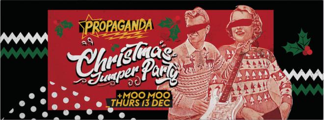 Propaganda Cheltenham – Christmas Jumper Party!