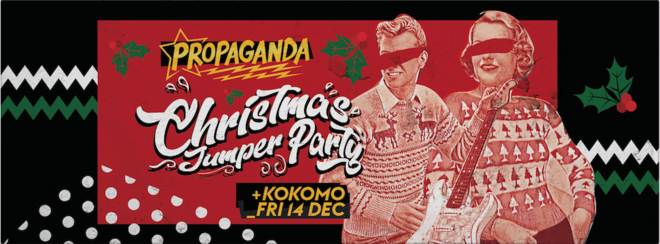 Propaganda Glasgow – Christmas Jumper Party!