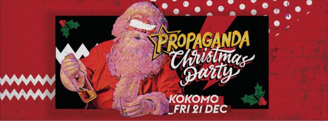 Propaganda Glasgow – Christmas Party!