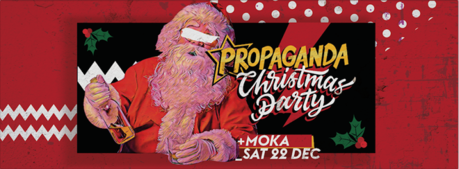 Propaganda Lincoln – Christmas Party!
