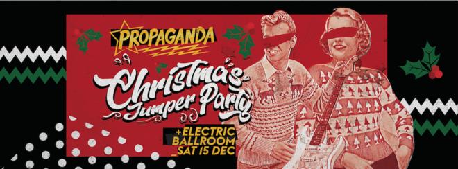 Propaganda London – Christmas Jumper Party!