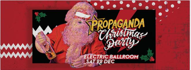 Propaganda London – Christmas Party!