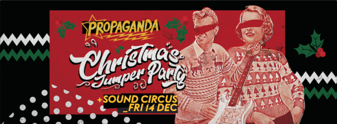 Propaganda Bournemouth – Christmas Jumper Party!