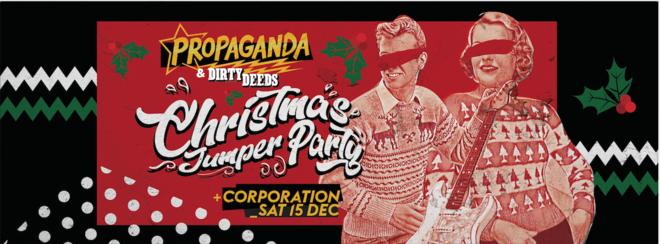 Propaganda Sheffield & Dirty Deeds – Christmas Jumper Party!
