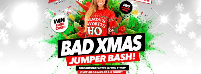Bad Xmas Jumper Party 17.12.18 Halo