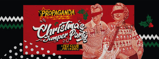 Propaganda Cambridge – Christmas Jumper Party!