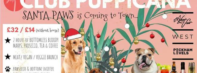 Club Puppicana – Santa Paws is Coming to Town