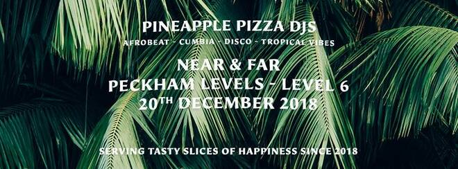 Pineapple Pizza Christmas Party
