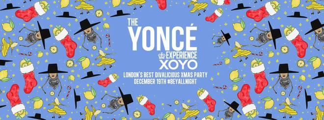 The Yoncé Experience – Beyoncé's Christmas Party 2018 | XOYO
