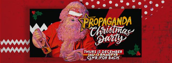 Propaganda Cardiff Christmas Party!