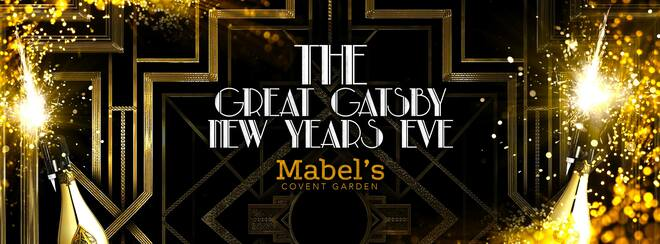 The Great Gatsby New Years Eve | Covent Garden London
