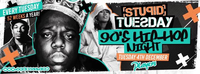 Stuesday – 90's Hip-Hop Night