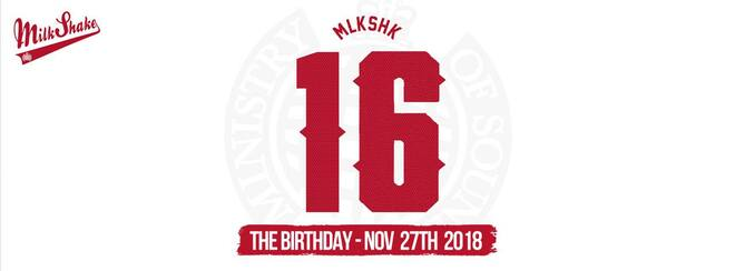 Ministry of Sound, Milkshake - Official 16th Birthday | OUR BIGGEST EVENT YET!