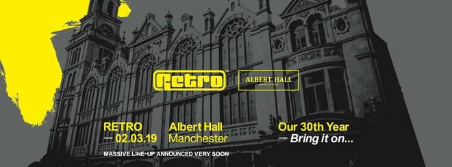 Retro: Albert Hall MCR – Massive line-up announced very soon