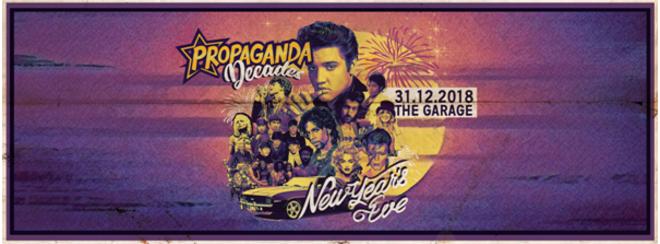 Propaganda Decades: New Year's Eve Party!