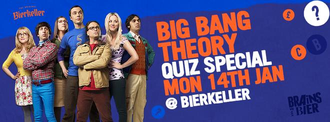 Brains V Bier – Big Bang Theory