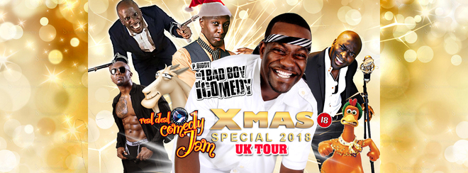 Real Deal Comedy Jam – Birmingham Christmas special