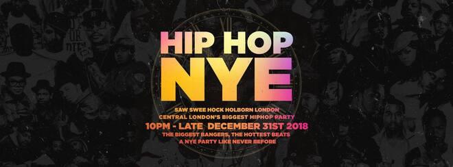 The Hip Hop New Years Eve 2018 – London NYE