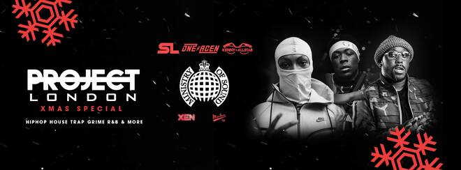 Project London Xmas ft: SL, One Acen, Kenny Allstar & More