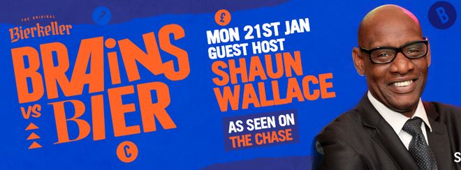Brains V Bier With Shaun Wallace [The Chase]