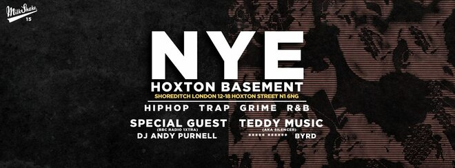 The Hoxton Basement New Years Eve | HipHop x Trap x House x R&B