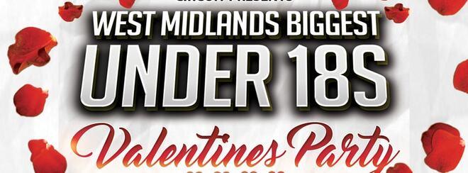 West Midlands Biggest Under 18s Valentines Event