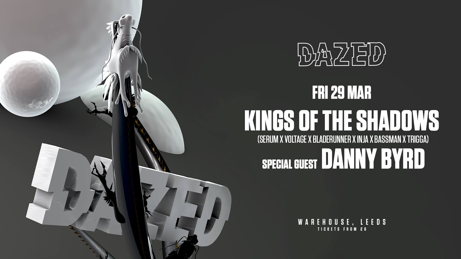 Dazed Presents: Kings Of The Shadows (Leeds Debut)