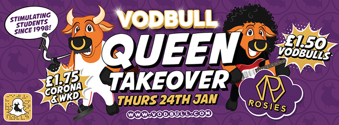 🎸Vodbull QUEEN TAKEOVER!!🎸 [Early Birds/1st Release SOLD OUT!!]