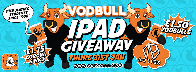 Vodbull iPAD PARTY!! [Early Bird/1st Release SOLD OUT!]