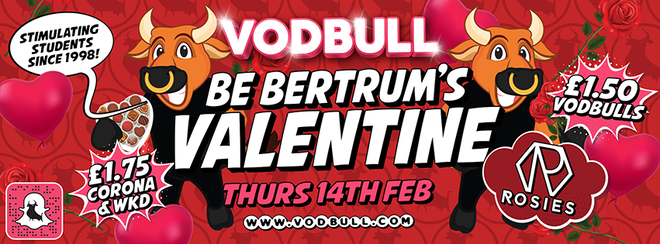 💖Bertrum's Valentine Party!!💖 [Early Birds SOLD OUT!]