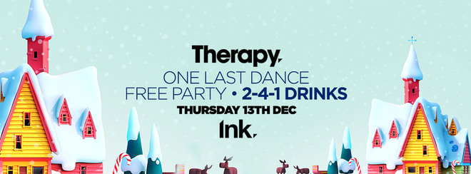 Therapy – FREE PARTY – 1 Last Dance