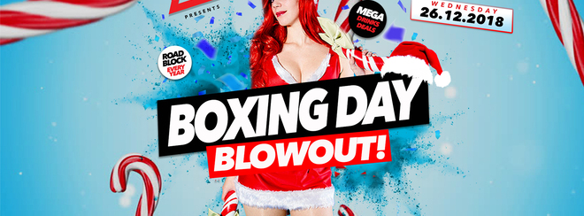 Boxing Day Blowout 26.12.18 Halo Bournemouth