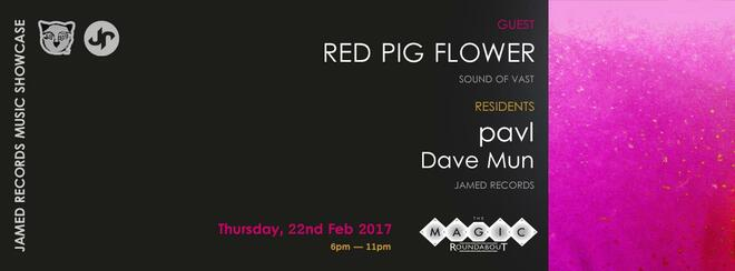 JR music showcase w/ Red Pig Flower @ The Magic Roundabout