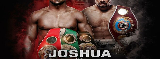 Joshua vs Parker LIVE on the big screen Sat 31st March 2018 w/ Afterparty