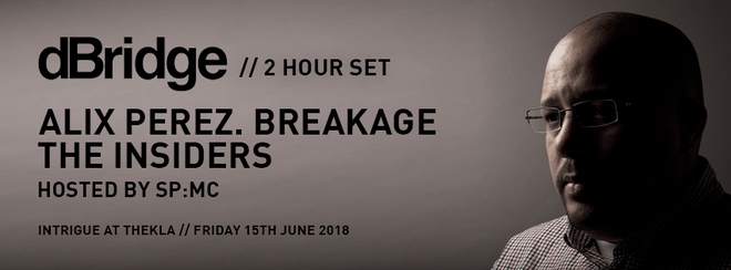 Intrigue Summer Special: dBridge, Alix Perez, Breakage, SP:MC