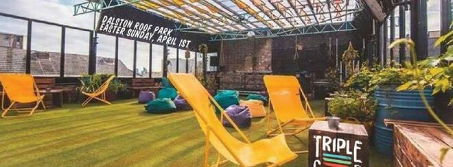 Triple Cooked: Dalston Roof Park – Easter Special