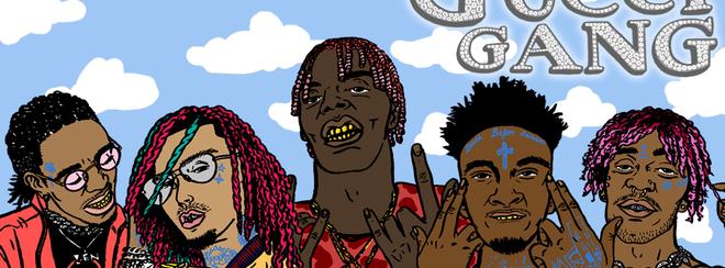 Gucci Gang – Manchester