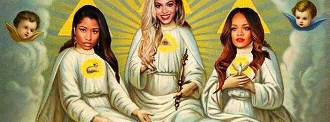 The Holy Trinity – Beyonce', Rihanna & Nicki